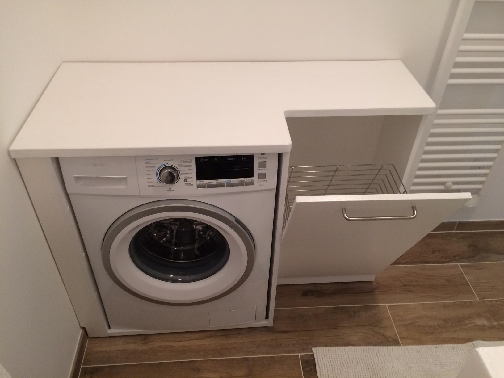 meuble de lave linge  atelier dop