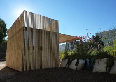 Cabane de jardiniers