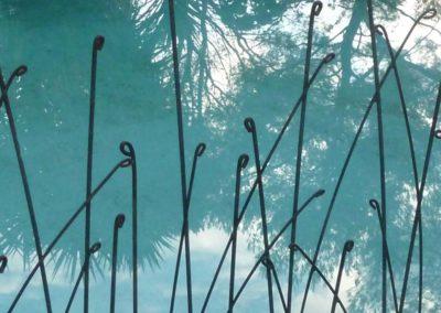 Clôtures brin d'herbe