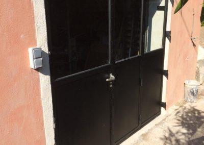 Porte d'atelier