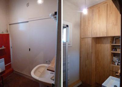Grand meuble de salle de bain